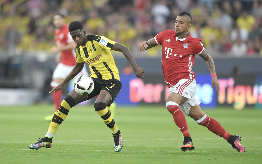 BVB (Ousmane Dembélé) gegen FCB (Aturo Vidal): Gibt es einen Zweikampf um die Meisterschaft?
