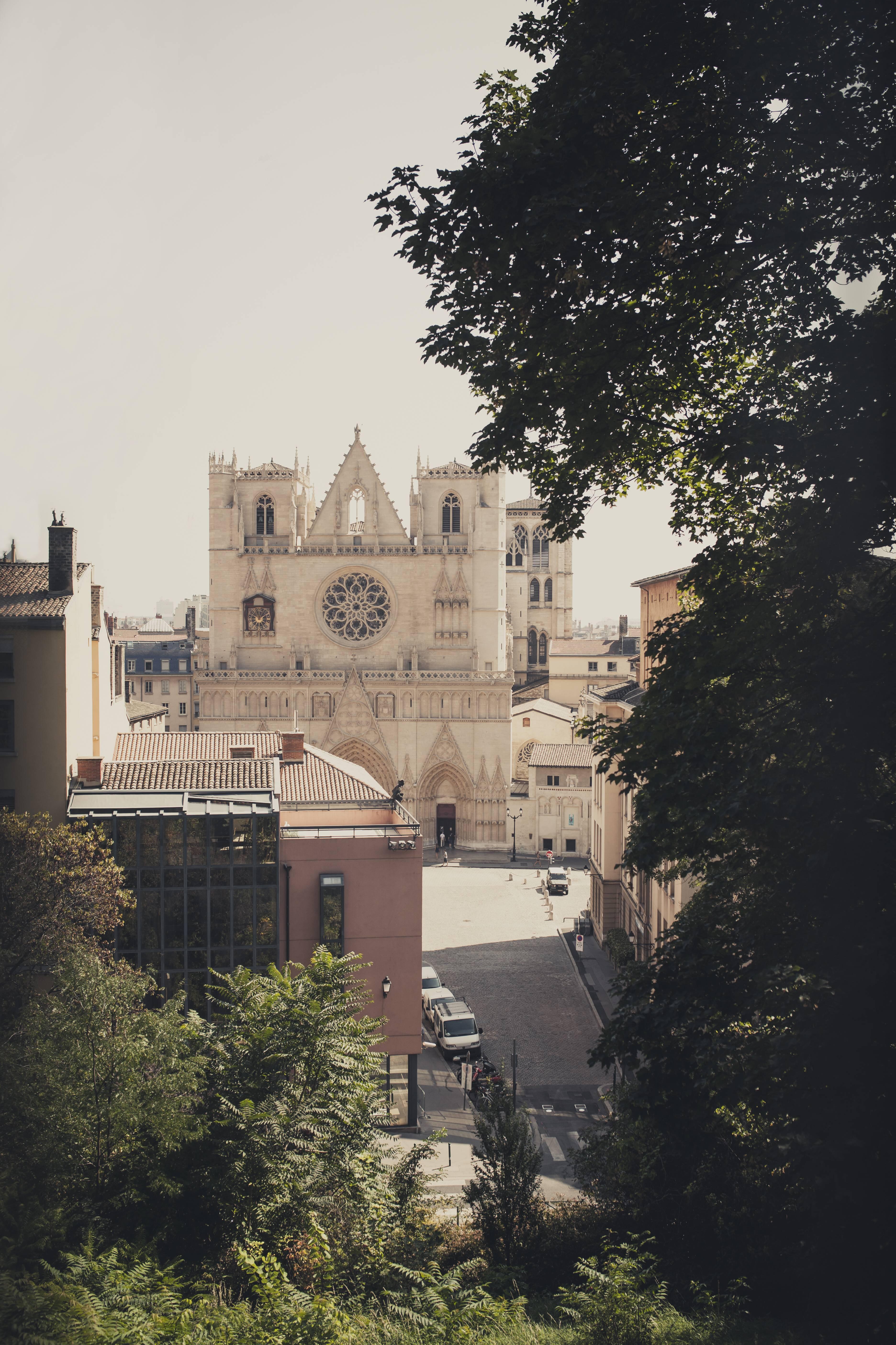 France, Department Rhone, Lyon, View to Lyon Cathedral PUBLICATIONxINxGERxSUIxAUTxHUNxONLY SBDF001322France Department Rhone Lyon View to Lyon Cathedral PUBLICATIONxINxGERxSUIxAUTxHUNxONLY SBDF001322