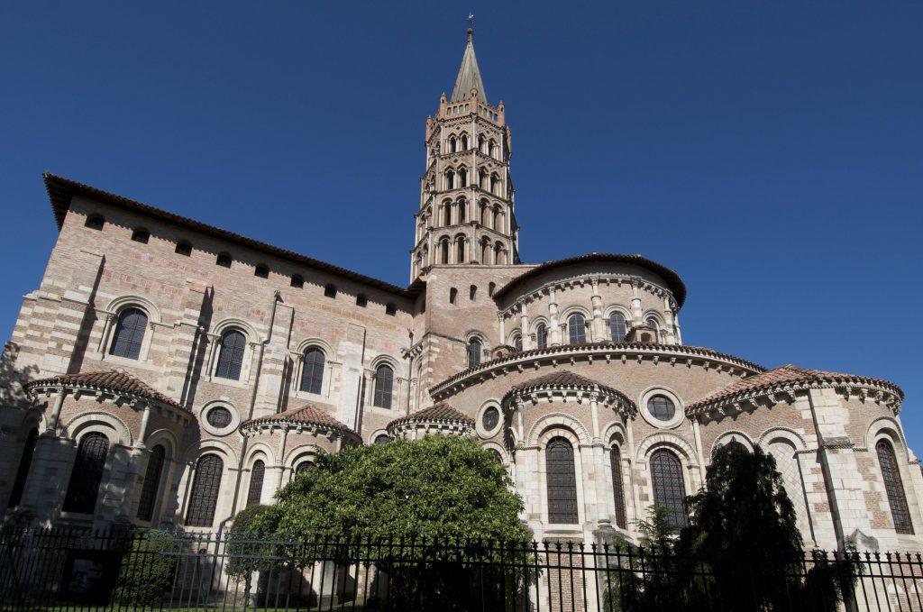 Basilika Saint-Sernin, Toulouse, Haute Garonne, Frankreich, Europa iblbej01634468Basilica Saint Sernin Toulouse Haute Garonne France Europe iblbej01634468