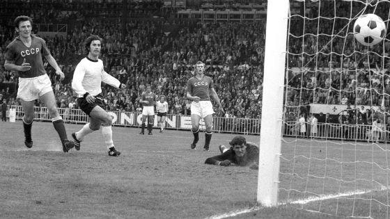 EM 1972: Deutschland gegen die UdSSR mit Gerd Müller