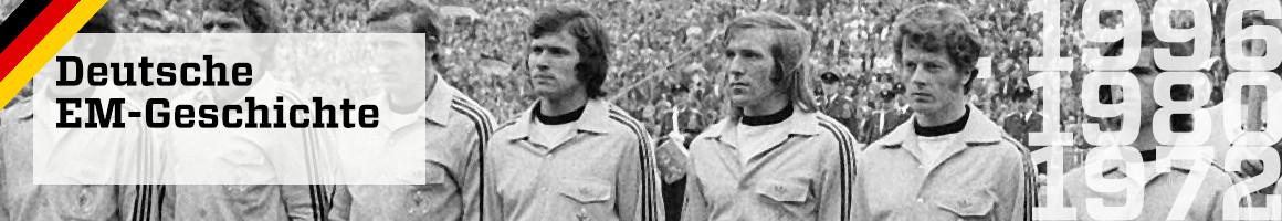 Die EM-Geschichte der deutschen Fußball-Nationalmannschaft