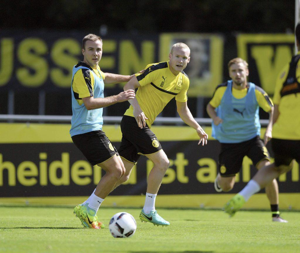 Vom FCB zum BVB: Götze und Rode (v.l.).