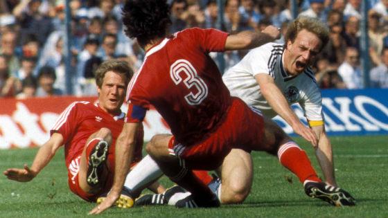 EM 1984 - Karl-Heinz Rummenigge in Aktion