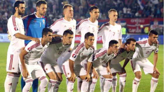 EM 2016 Team Albanien