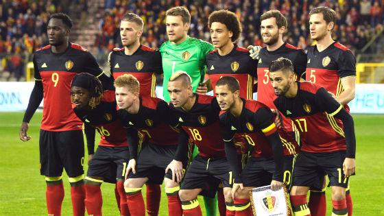 EM 2016 Team Belgien
