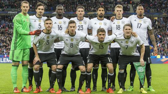 EM 2016 Team Deutschland