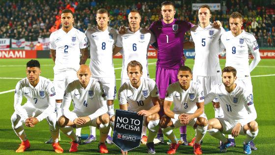 EM 2016 Team England