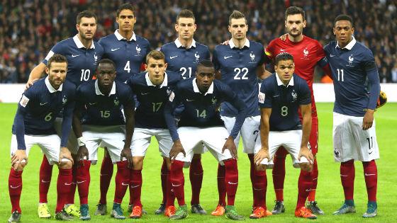 EM 2016 Team Frankreich
