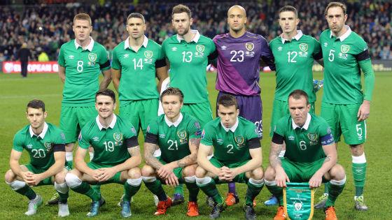 EM 2016 Team Irland
