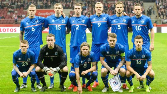 EM 2016 Team Island