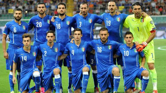 EM 2016 Team Italien