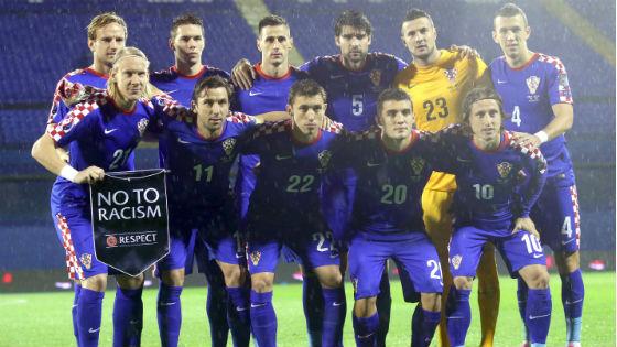 EM 2016 Team Kroatien