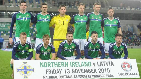 EM 2016 Team Nordirland
