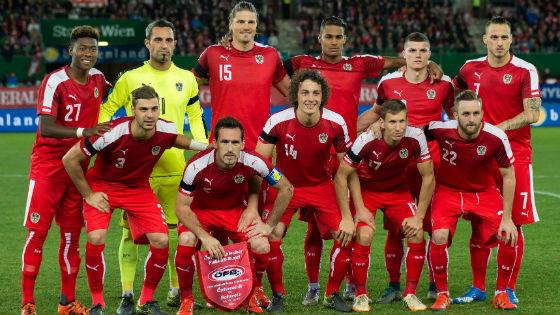 EM 2016 Team Österreich