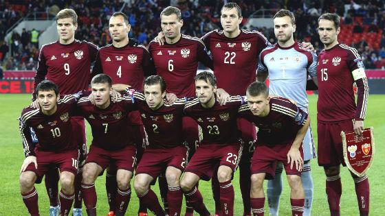 EM 2016 Team Russland