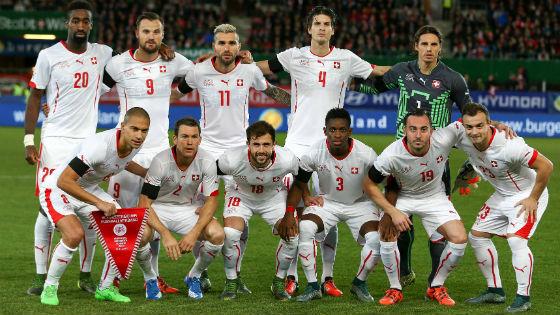 EM 2016 Team Schweiz