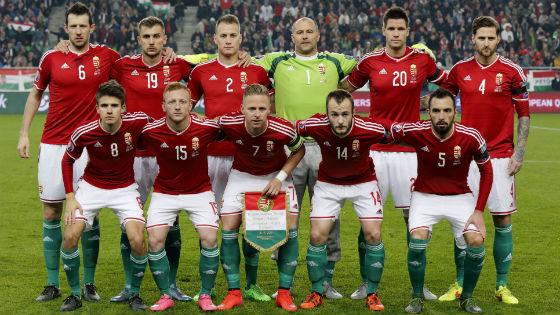 EM 2016 Team Ungarn