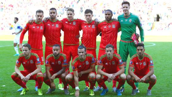 EM 2016 Team Wales