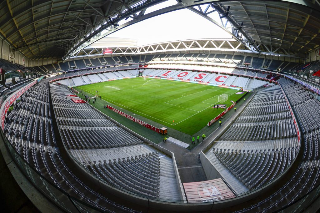 Stade Pierre Mauroy  FOOTBALL : Lille LOSC OSC  - Ligue 1 - Lille - 29/09/2015 FedericoPestellini/Panoramic PUBLICATIONxNOTxINxFRAxITAxBELStade Pierre Mauroy Football Lille LOSC OSC Ligue 1 Lille 29 09 2015 FedericoPestellini Panoramic PUBLICATIONxNOTxINxFRAxITAxBEL