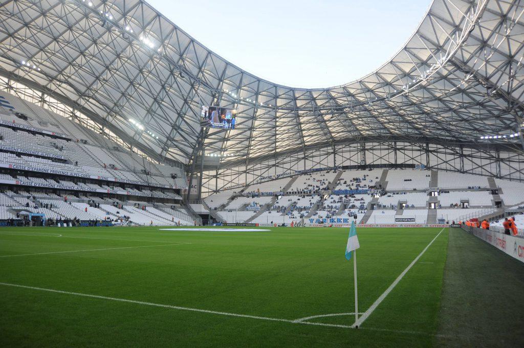 Stade Velodrome von Olympique Marseille - Ligue 1 - 08/11/2015 FEP/ PUBLICATIONxNOTxINxFRAxITAxBELStade Velodrome from Olympique Marseille Ligue 1 08 11 2015 FEP PUBLICATIONxNOTxINxFRAxITAxBEL