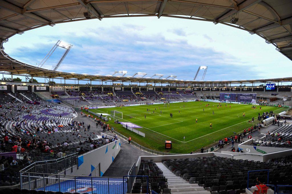 FC Toulouse, Stadium Municipal 30/08/2014 xThierryBretonx PUBLICATIONxNOTxINxFRAxITAxBELFC Toulouse Stage Municipal 30 08 2014  PUBLICATIONxNOTxINxFRAxITAxBEL