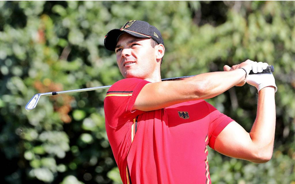 Rio 2016 Golf Herren: Martin Kaymer in Aktion. Wird Er mit Team Europa den Ryder Cup 2016 holen?
