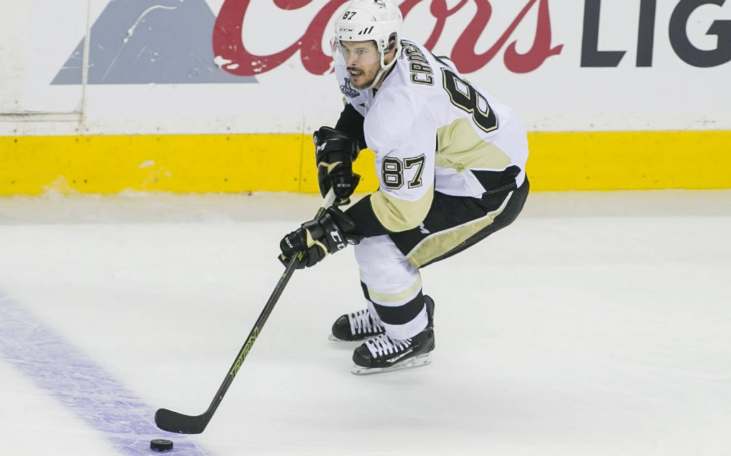 Sidney Crosby von den Pittsburgh Penguins