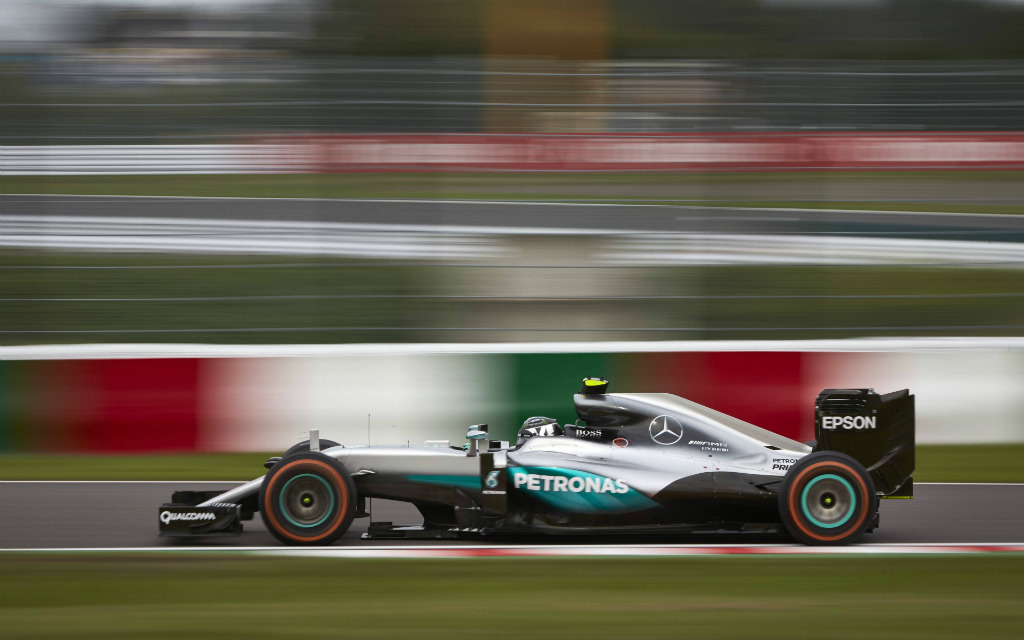 Suzuka Circuit, Japan. Sunday 9 October 2016. Nico Rosberg, Mercedes F1 W07 Hybrid. World SNE27884 PUBLICATIONxINxGERxSUIxAUTxHUNxONLY  Suzuka Circuit Japan Sunday 9 October 2016 Nico Rosberg Mercedes F1 W07 Hybrid World