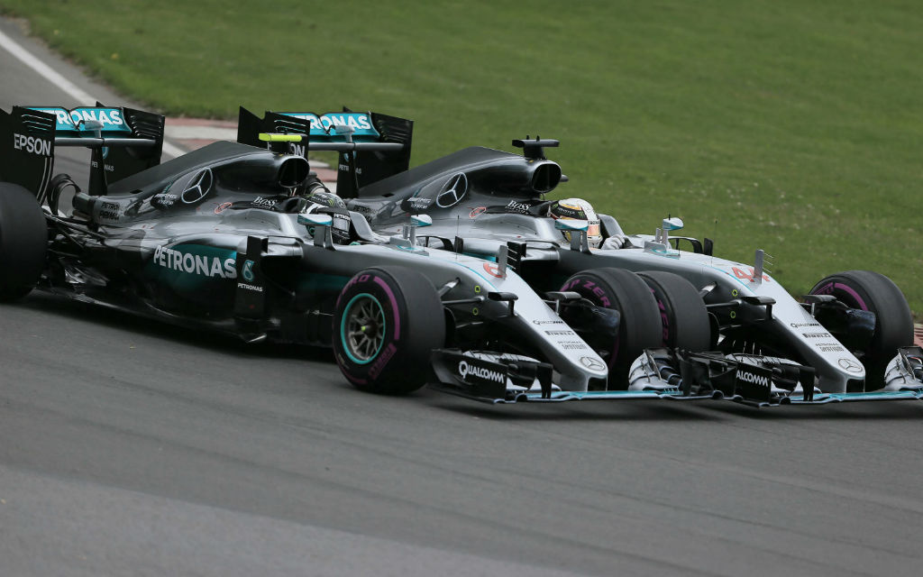 Formel 1, Zweikampf Rosberg gegen Hamilton