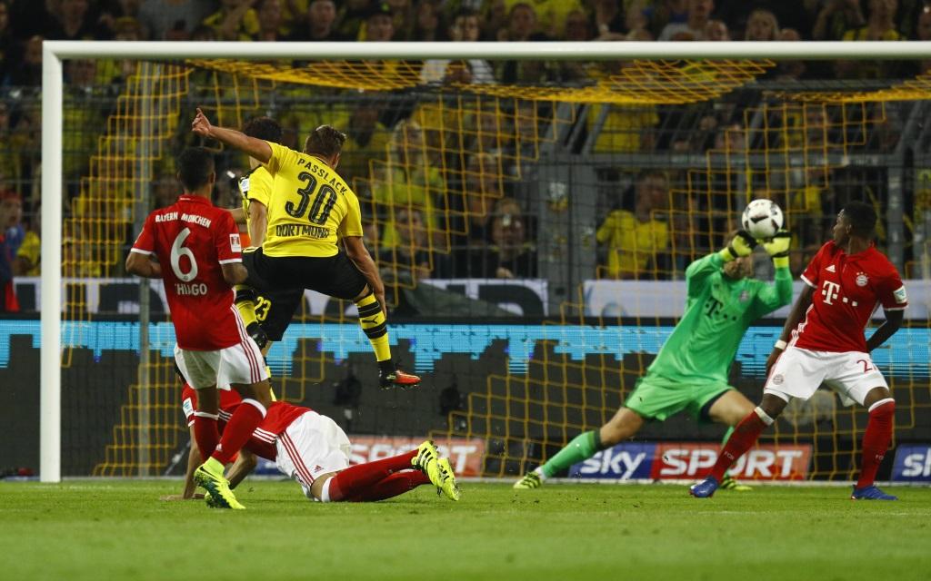 Dortmund gegen Bayern im Supercup der Saison 2016/17