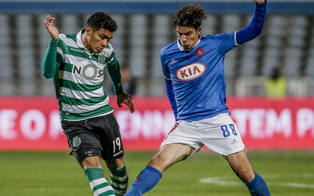 Sporting gegen Belenenses am 28. Spieltag der Primeira Liga der Saison 2015/16