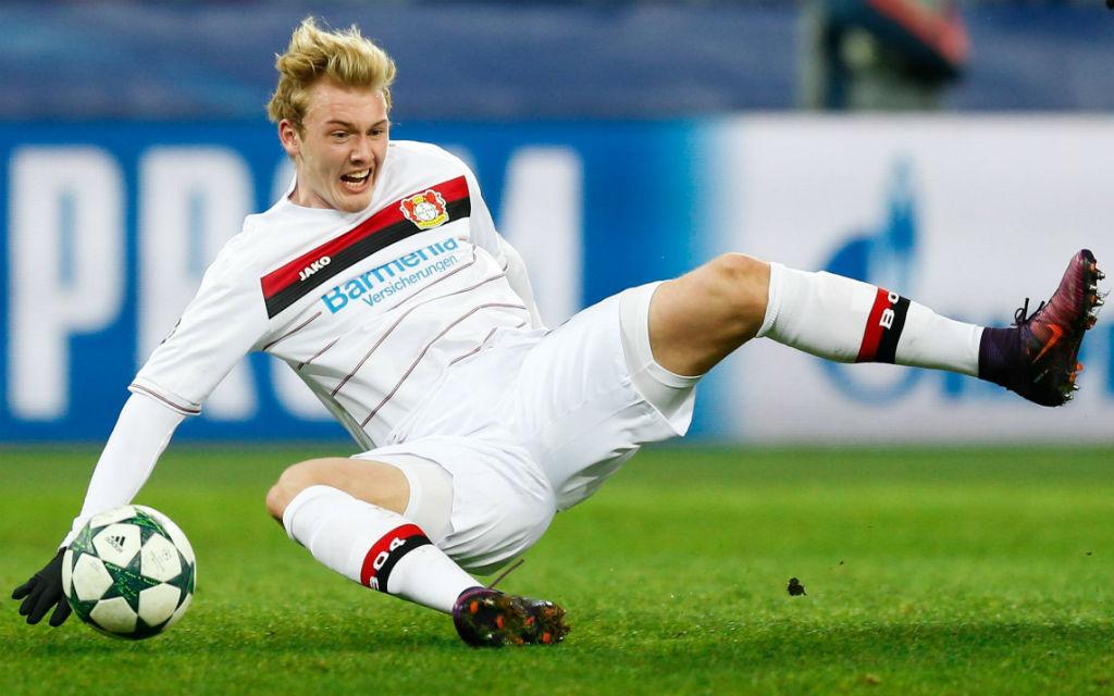 Julian Brandt würde gerne mit Leverkusen das letzte Vorrundenspiel der Champions League gegen Monaco gewinnen.