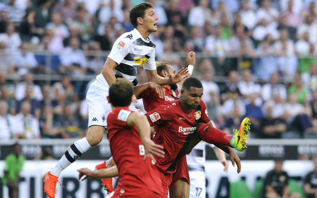 Im Hinspiel war Christensen mit seinen Gladbachern obenauf: 2:1 gewann die Borussia gegen Leverkusen.