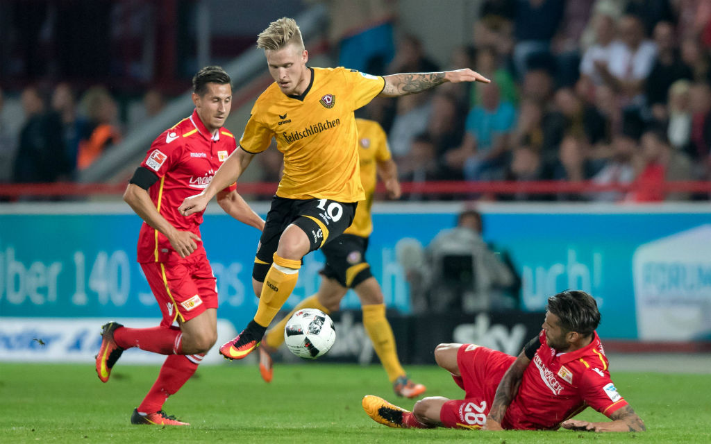 Im Hinspiel trennten sich Dynamo und Union 2:2. Kann Dresden Union Berlin in der Tabelle überholen?