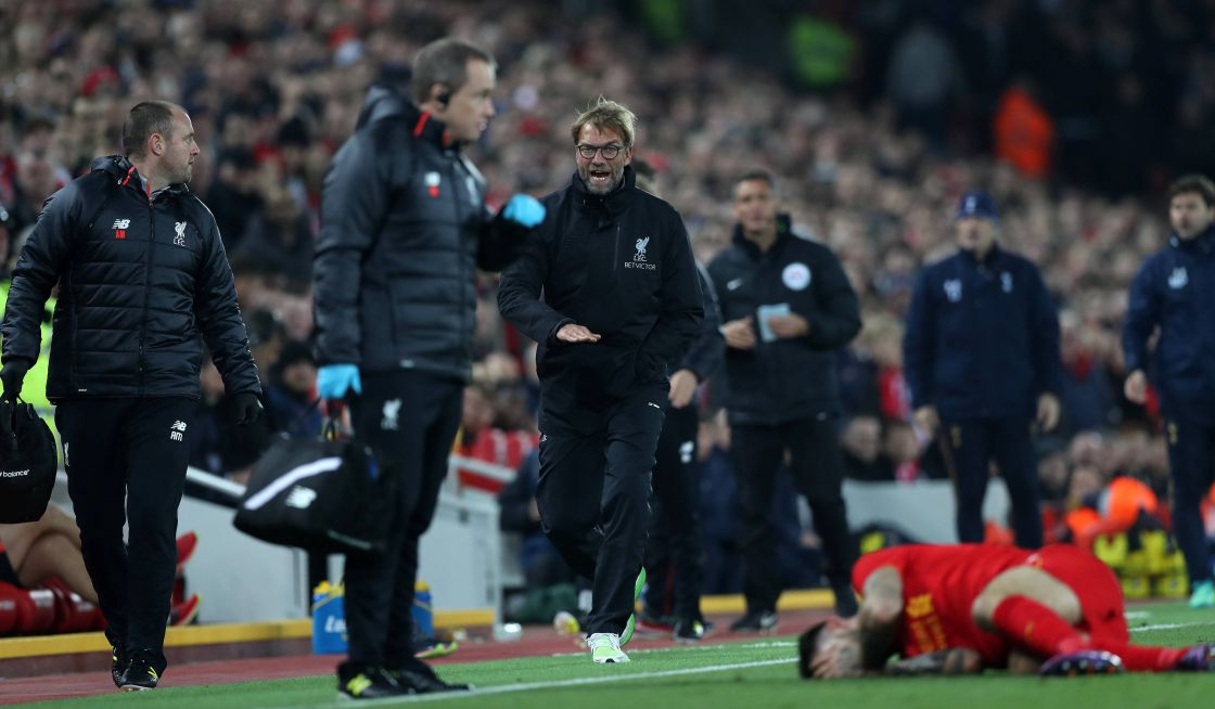 Jürgen Klopp in Action!