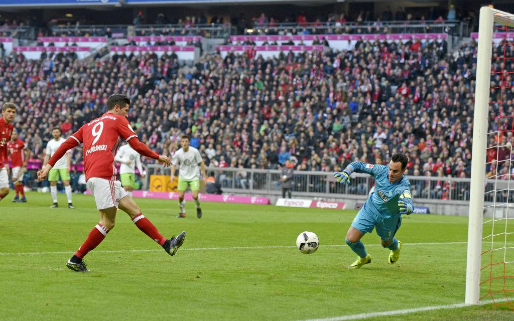 Lewandowski schenkte den Wolfsburgern zuletzt reichlich ein.