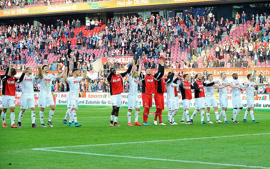 Imago nordphoto | Das Hinspiel in Köln gewannen die Gastgeber mit 2:1.