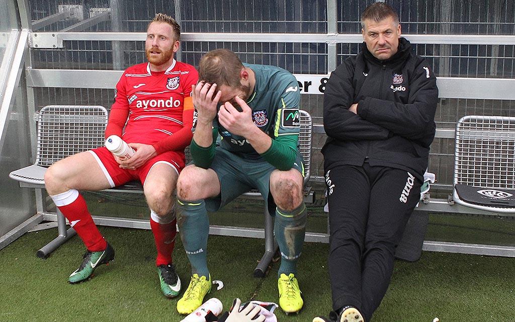 Imago |Der FSV Frankfurt steht mit dem Rücken zur Wand
