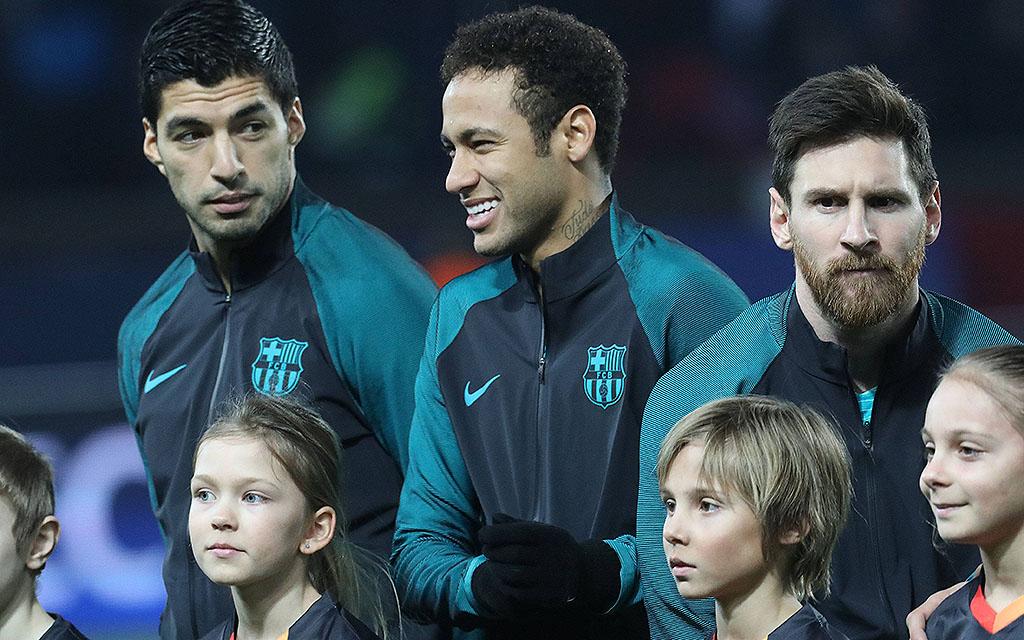 Imago, Jimmy Conway   Suarez, Neymar und Messi: Schaffen Sie das Wunder?