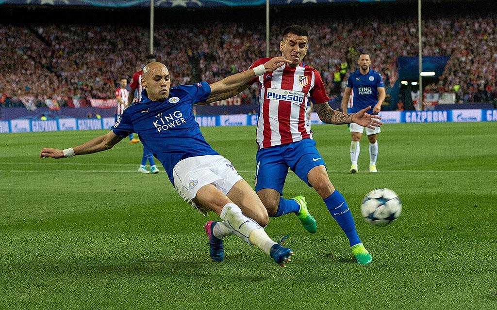 Imago | Das Hinspiel in Madrid gewann Atletico gegen Leicester mit 1:0