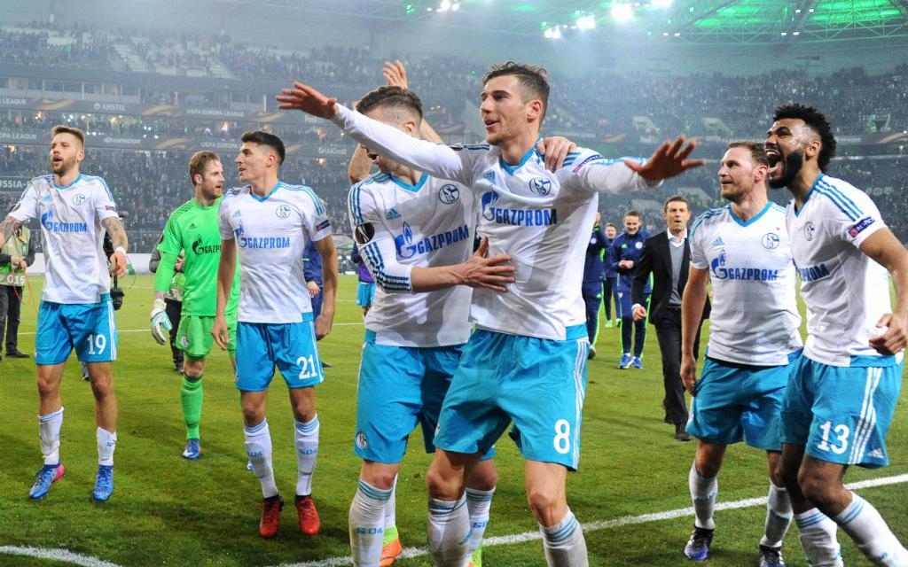 Nach zwei Unentschieden zogen Schalkes neue Eurofighter in die nächste EL-Runde ein.