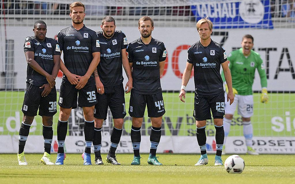 Imago | Gelingt der Ausweg über die Relegation? Bei 1860 gibt's das kollektive Bangen
