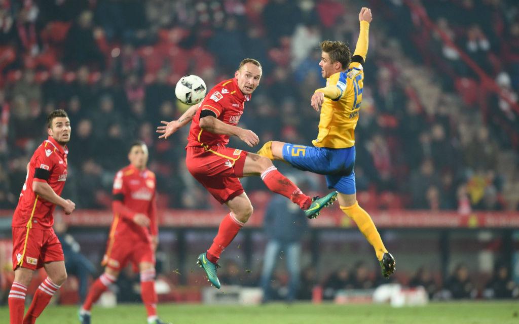 Ohne Tor blieb die Eintracht beim Aufstiegskampf im Dezember bei Union.