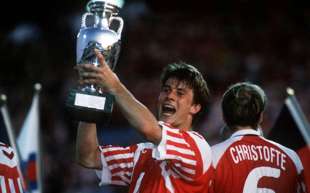 Lang ist's her: Feiernde Dänen beim EM-Gewinn 1992.