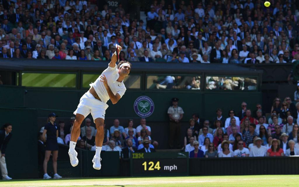 Im letzten Jahr war für Federer in Wimbledon im Halbfinale Schluss.
