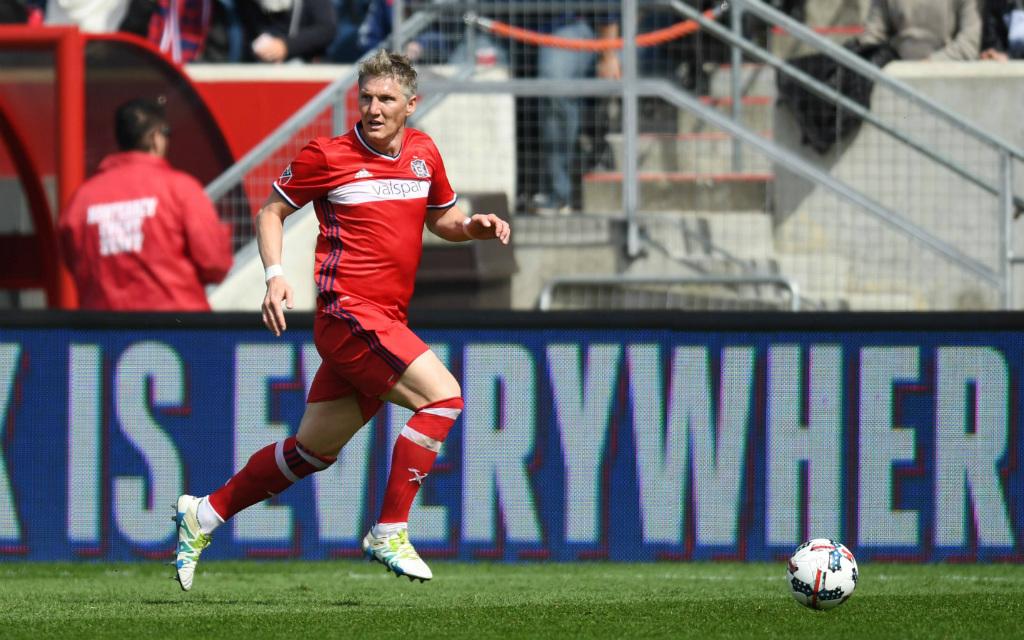 Imago/Icon SMI: Bastian Schweinsteiger und Chicago Fire wollen gegen Atlanta wieder siegen.