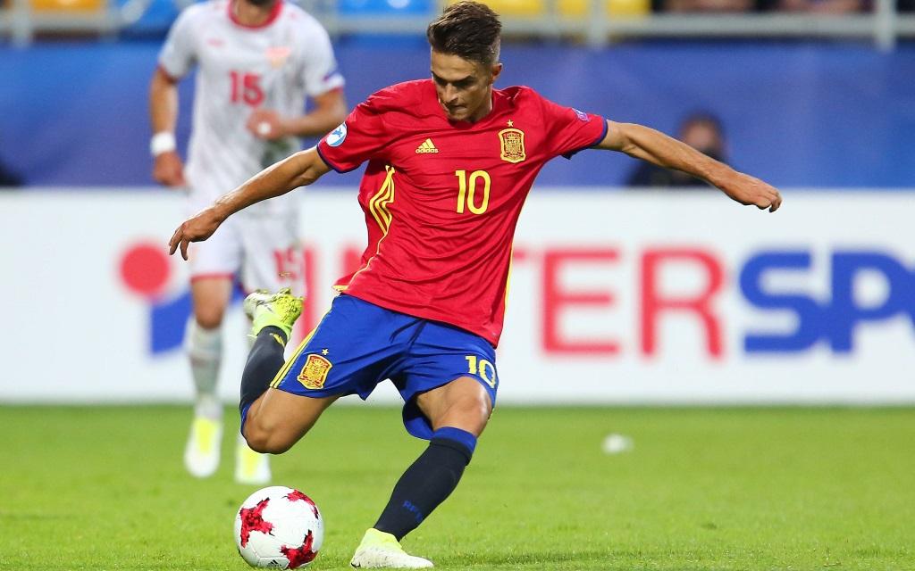Denis Suarez im Spiel bei der U21-Euro zwischen Spanien und Mazedonien.
