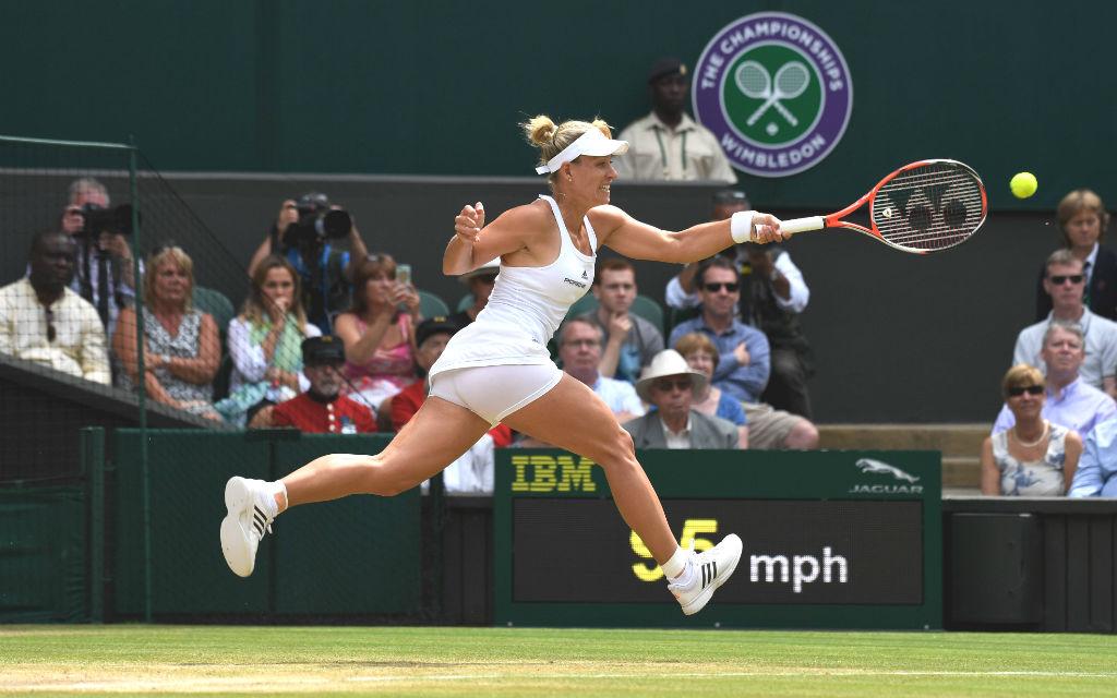 Die Chancen auf den Titel in Wimbledon für Angie Kerber sind gut.don