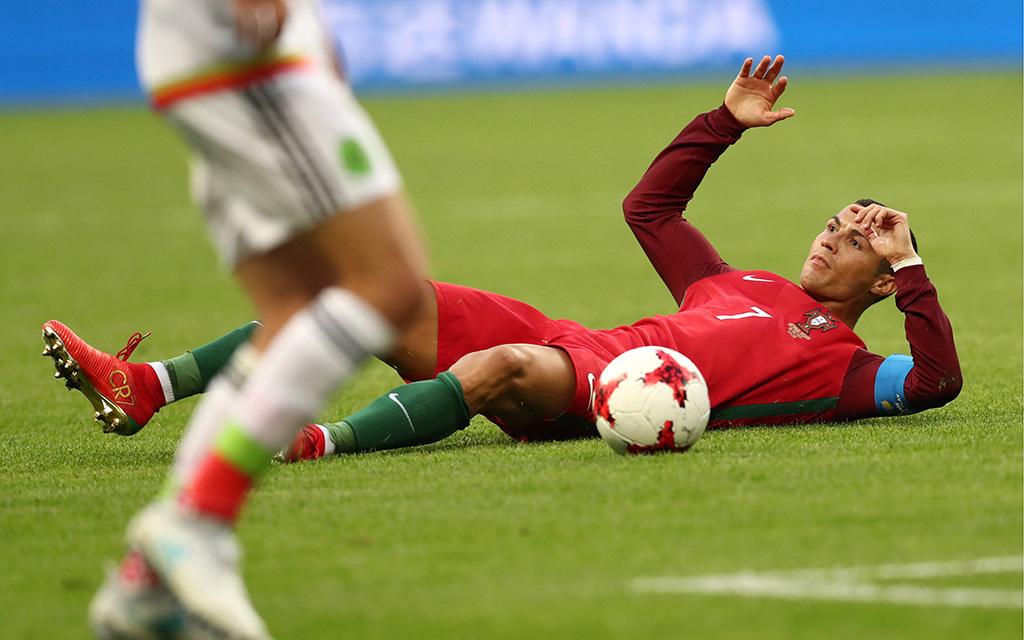 Imago | Ronaldo und Co. sind gegen Russland unter Druck
