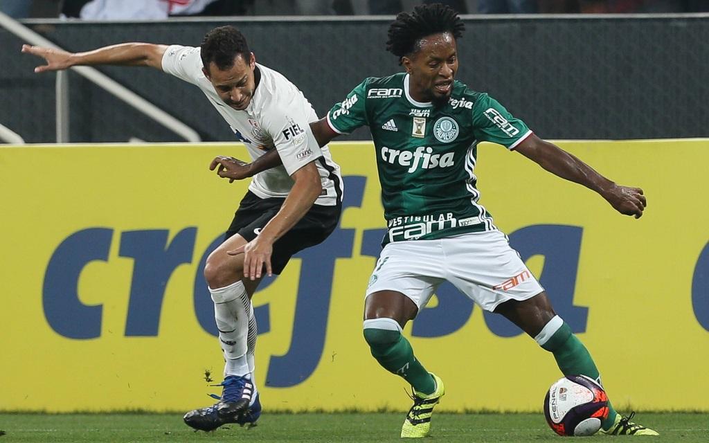 Ze Roberto im Spiel der Staatsmeisterschaft von Sao Paulo mit Palmeiras gegen Corinthians.